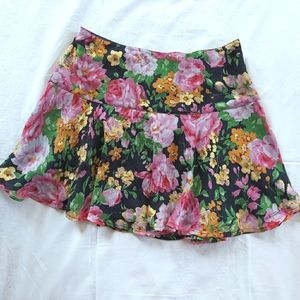 Abercrombie & Fitch Floral Mini Skirt